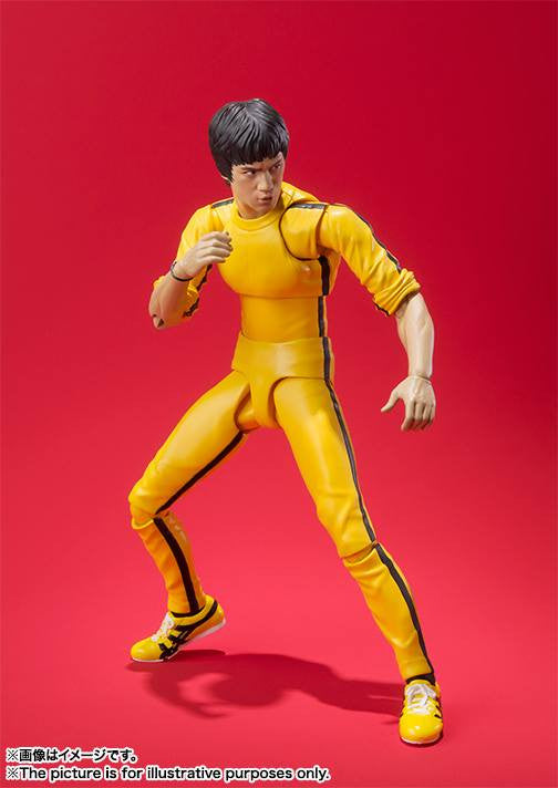 S.H.Figuarts - Bruce Lee (Yellow Track Suit) - Marvelous Toys - 3