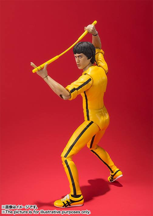 S.H.Figuarts - Bruce Lee (Yellow Track Suit) - Marvelous Toys - 4
