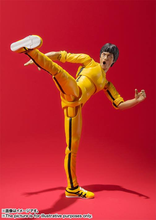 S.H.Figuarts - Bruce Lee (Yellow Track Suit) - Marvelous Toys - 5