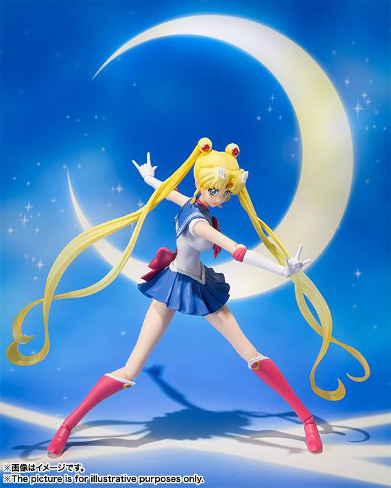 S.H.Figuarts - Sailor Moon Crystal - Sailor Moon - Marvelous Toys - 6