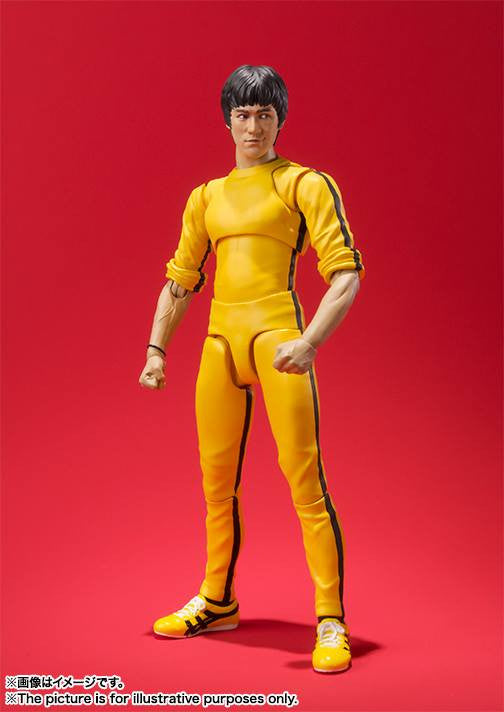 S.H.Figuarts - Bruce Lee (Yellow Track Suit) - Marvelous Toys - 6