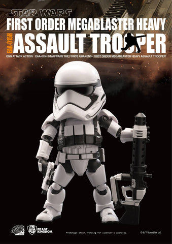 Egg Attack Action - EAA-015H - Star Wars: The Force Awakens - Megablaster Heavy Assault Trooper - Marvelous Toys - 2