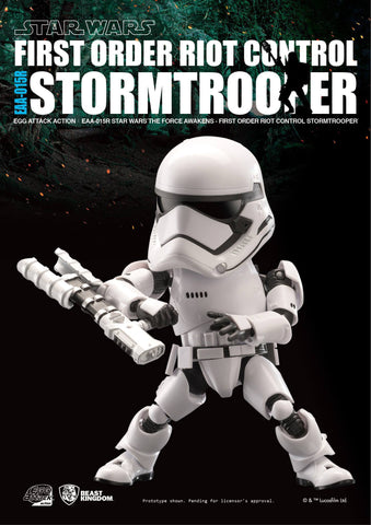 Egg Attack Action - Star Wars: The Force Awakens - EAA-015R Riot Control Stormtrooper - Marvelous Toys - 2
