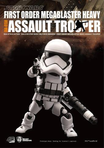 Egg Attack Action - EAA-015H - Star Wars: The Force Awakens - Megablaster Heavy Assault Trooper - Marvelous Toys - 1