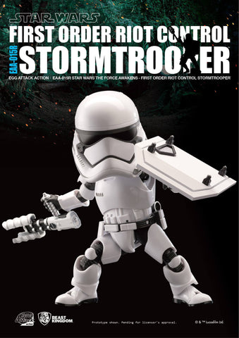 Egg Attack Action - Star Wars: The Force Awakens - EAA-015R Riot Control Stormtrooper - Marvelous Toys - 1
