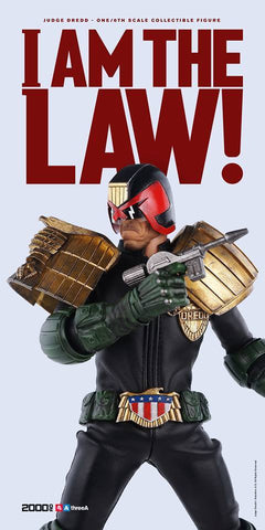 ThreeA - 2000AD - Judge Dredd - Marvelous Toys - 2