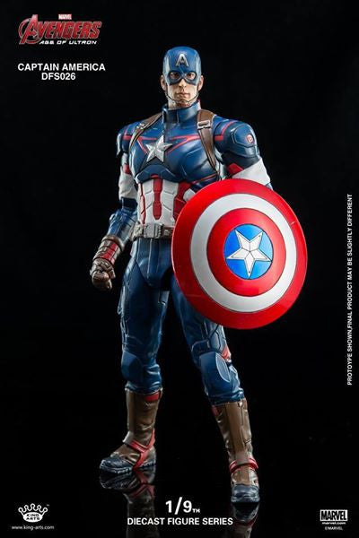 King Arts - DFS026 - Avengers: Age of Ultron - 1/9th Scale Captain America - Marvelous Toys - 5