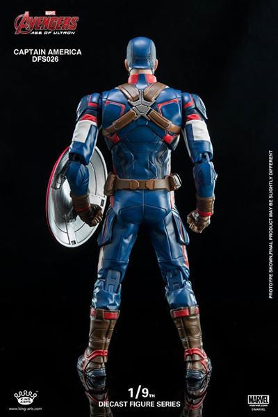 King Arts - DFS026 - Avengers: Age of Ultron - 1/9th Scale Captain America - Marvelous Toys - 6