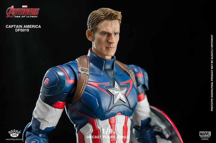 King Arts - DFS026 - Avengers: Age of Ultron - 1/9th Scale Captain America - Marvelous Toys - 4