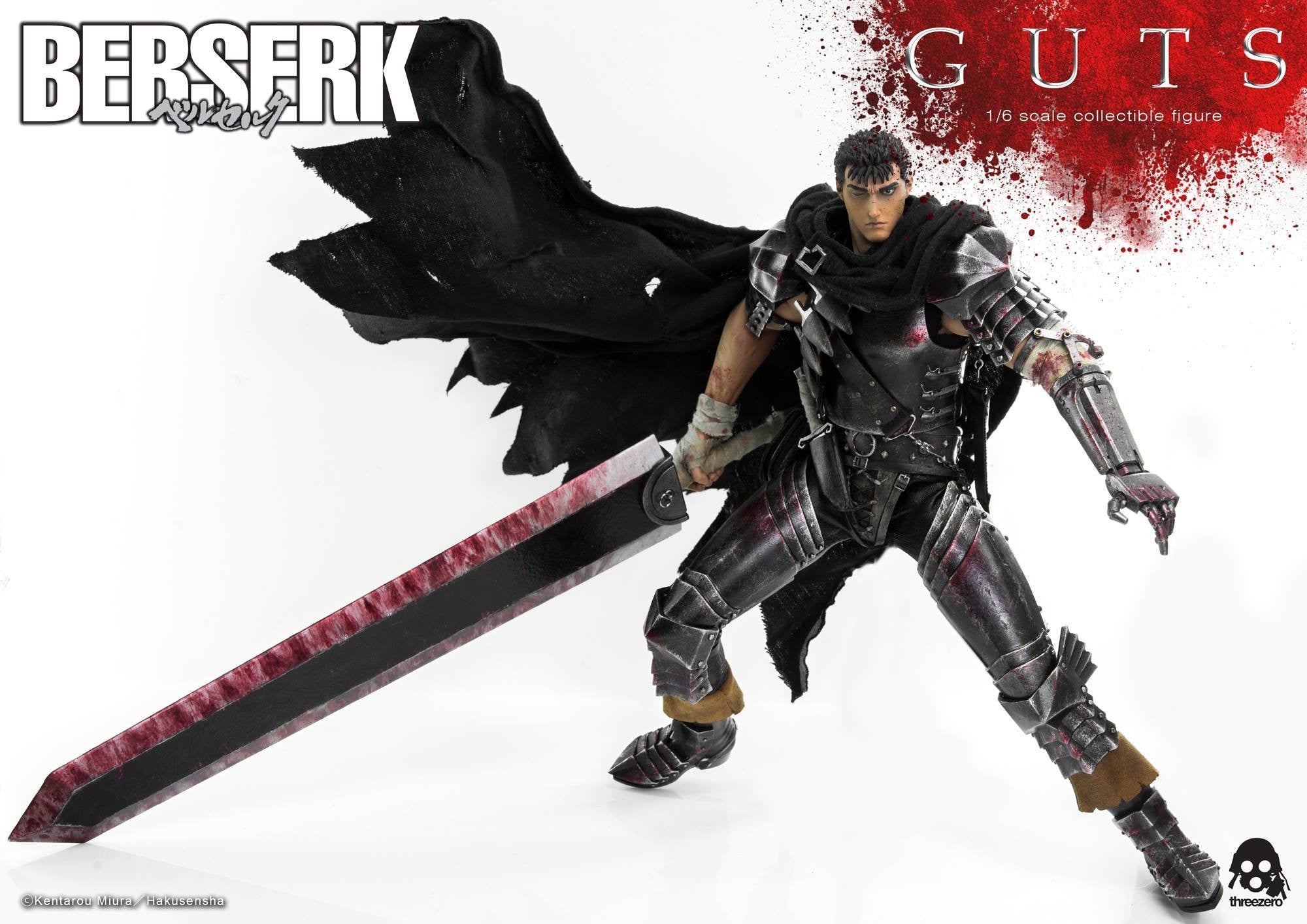 Threezero - Berserk - Guts (Reissue) - Marvelous Toys - 12