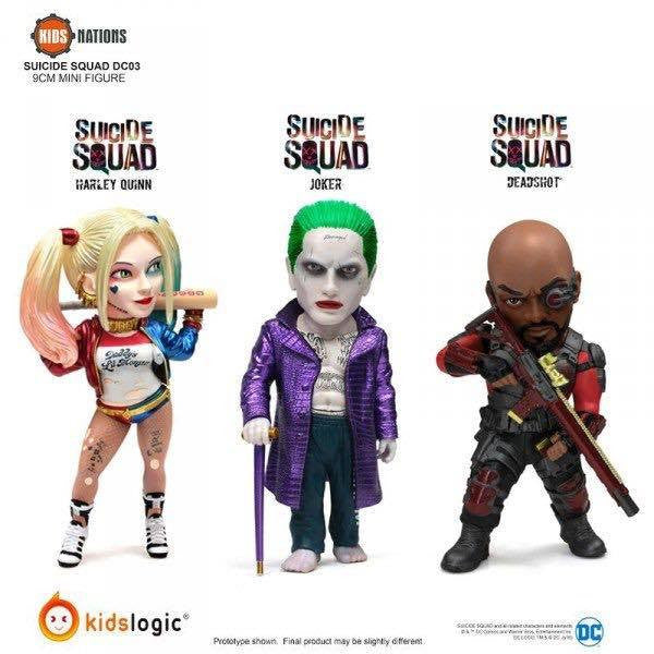 Kids Nations DC03 - Suicide Squad - Set of 3 - Marvelous Toys - 1