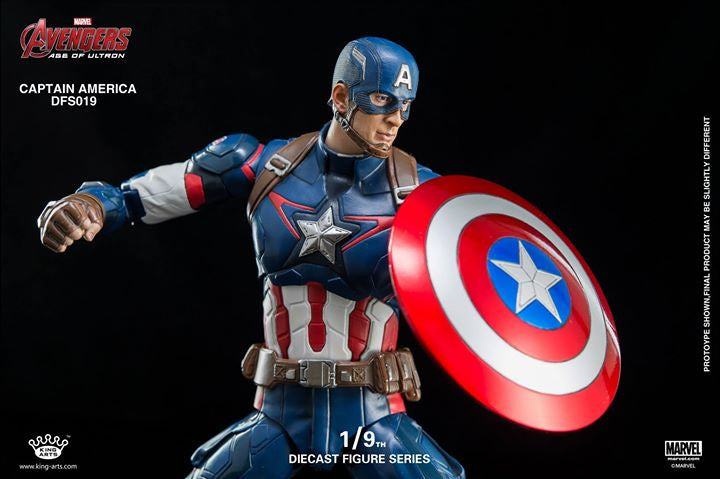 King Arts - DFS026 - Avengers: Age of Ultron - 1/9th Scale Captain America - Marvelous Toys - 8