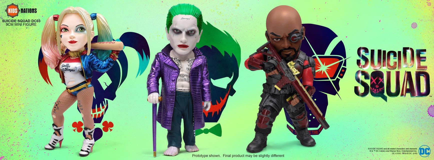 Kids Nations DC03 - Suicide Squad - Set of 3 - Marvelous Toys - 2
