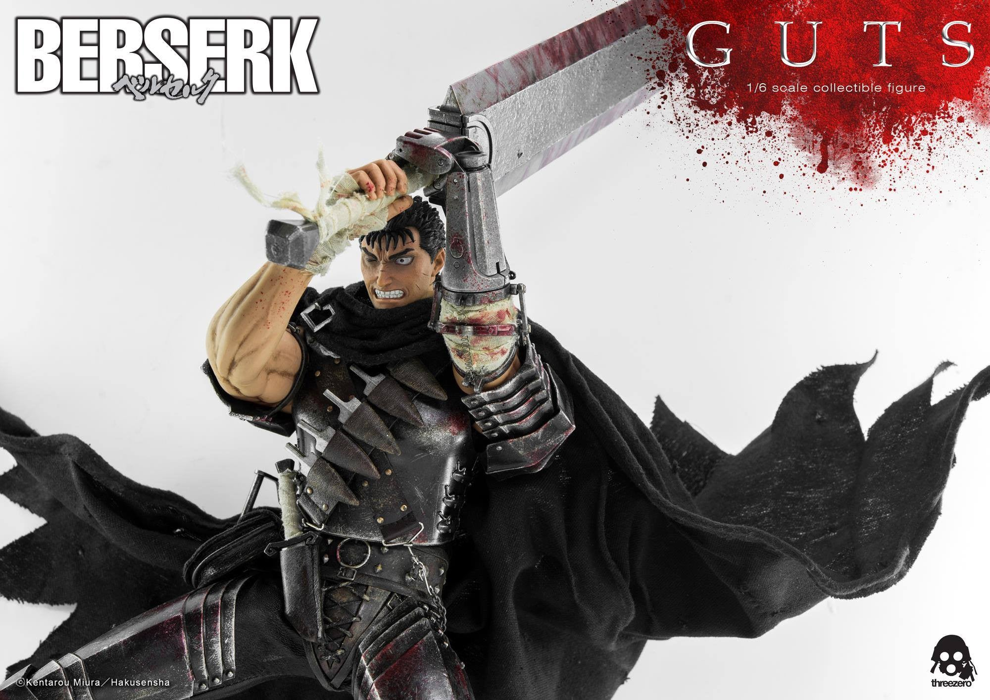 Threezero - Berserk - Guts (Reissue) - Marvelous Toys - 15