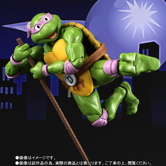 S.H. Figuarts - Teenage Mutant Ninja Turtles - Donatello - Marvelous Toys - 5