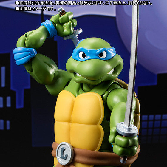 S.H. Figuarts - Teenage Mutant Ninja Turtles - Leonardo - Marvelous Toys - 1