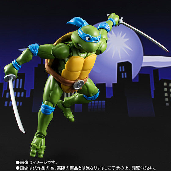 S.H. Figuarts - Teenage Mutant Ninja Turtles - Leonardo - Marvelous Toys - 5