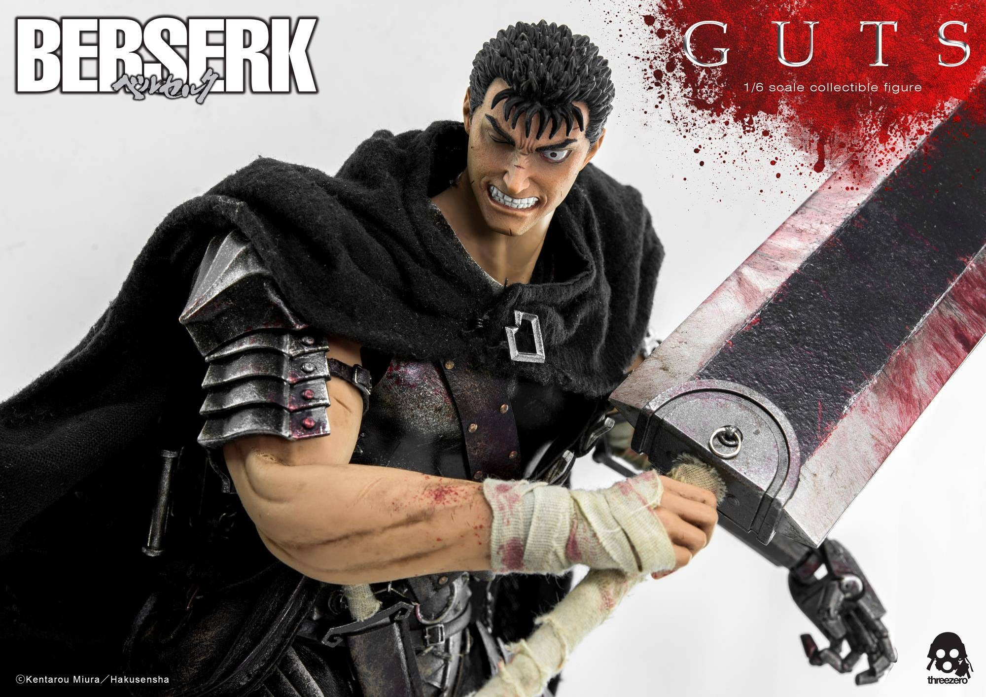 Threezero - Berserk - Guts (Reissue) - Marvelous Toys - 28