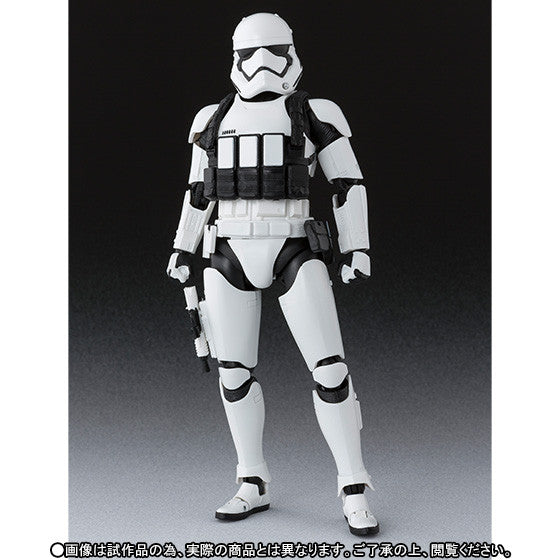 (IN STOCK) S.H. Figuarts - Star Wars: The Force Awakens - First Order Heavy Gunner Stormtrooper - Marvelous Toys - 3