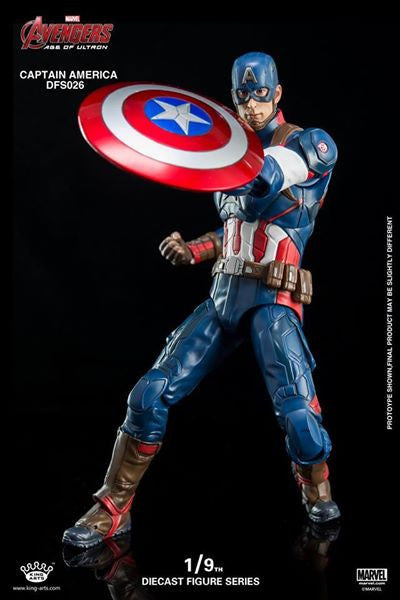 King Arts - DFS026 - Avengers: Age of Ultron - 1/9th Scale Captain America - Marvelous Toys - 15