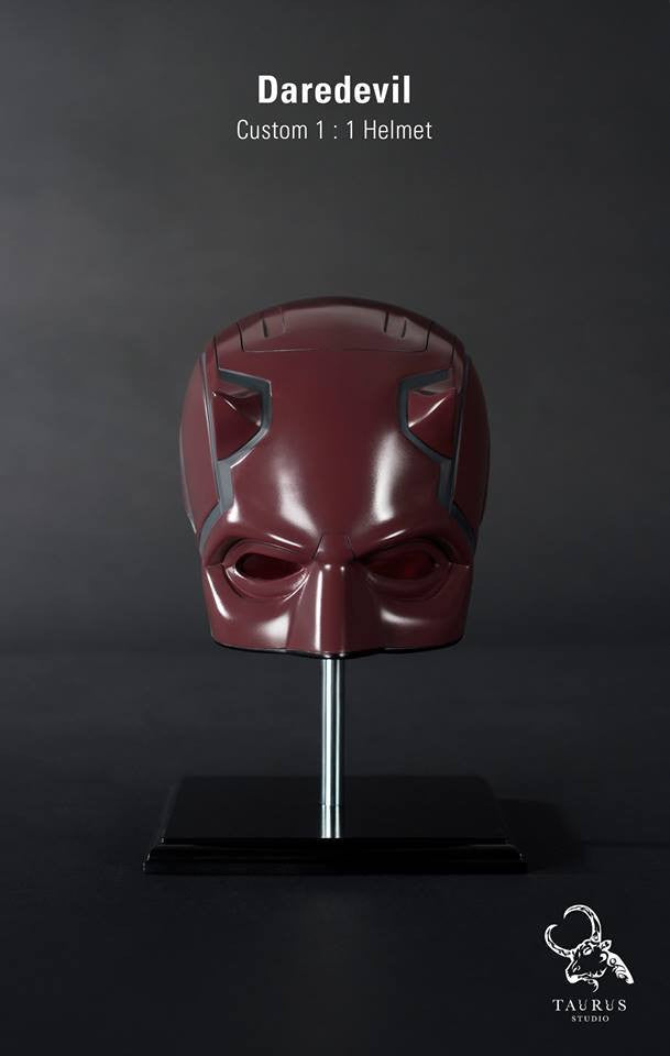 Custom Wearable 1:1 Daredevil Helmet - Marvelous Toys - 1