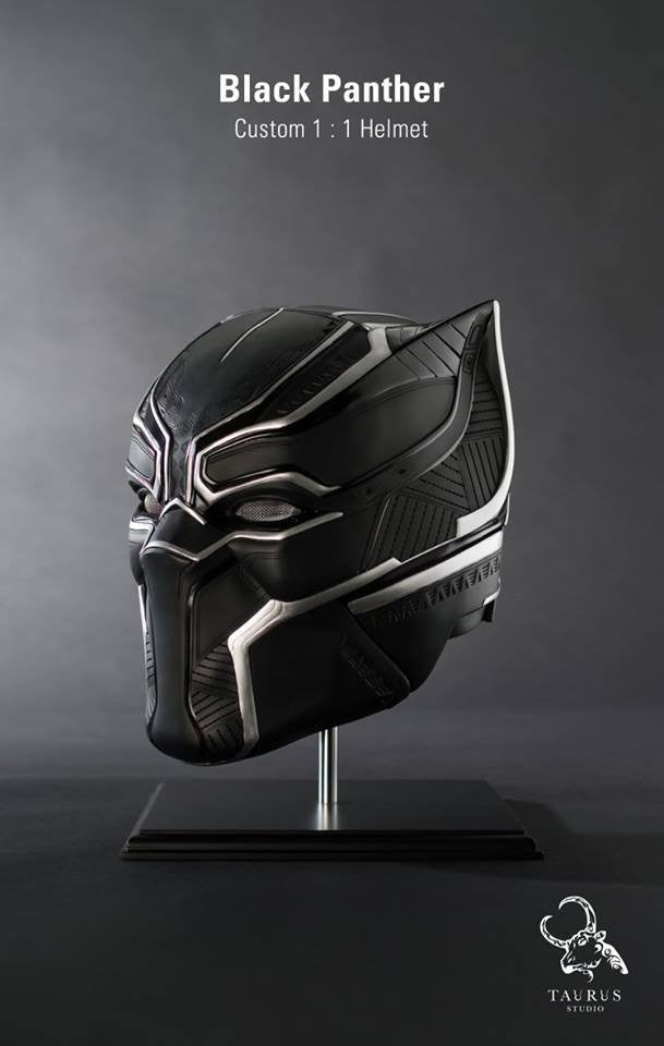 Custom 1:1 Black Panther Helmet - Marvelous Toys - 1