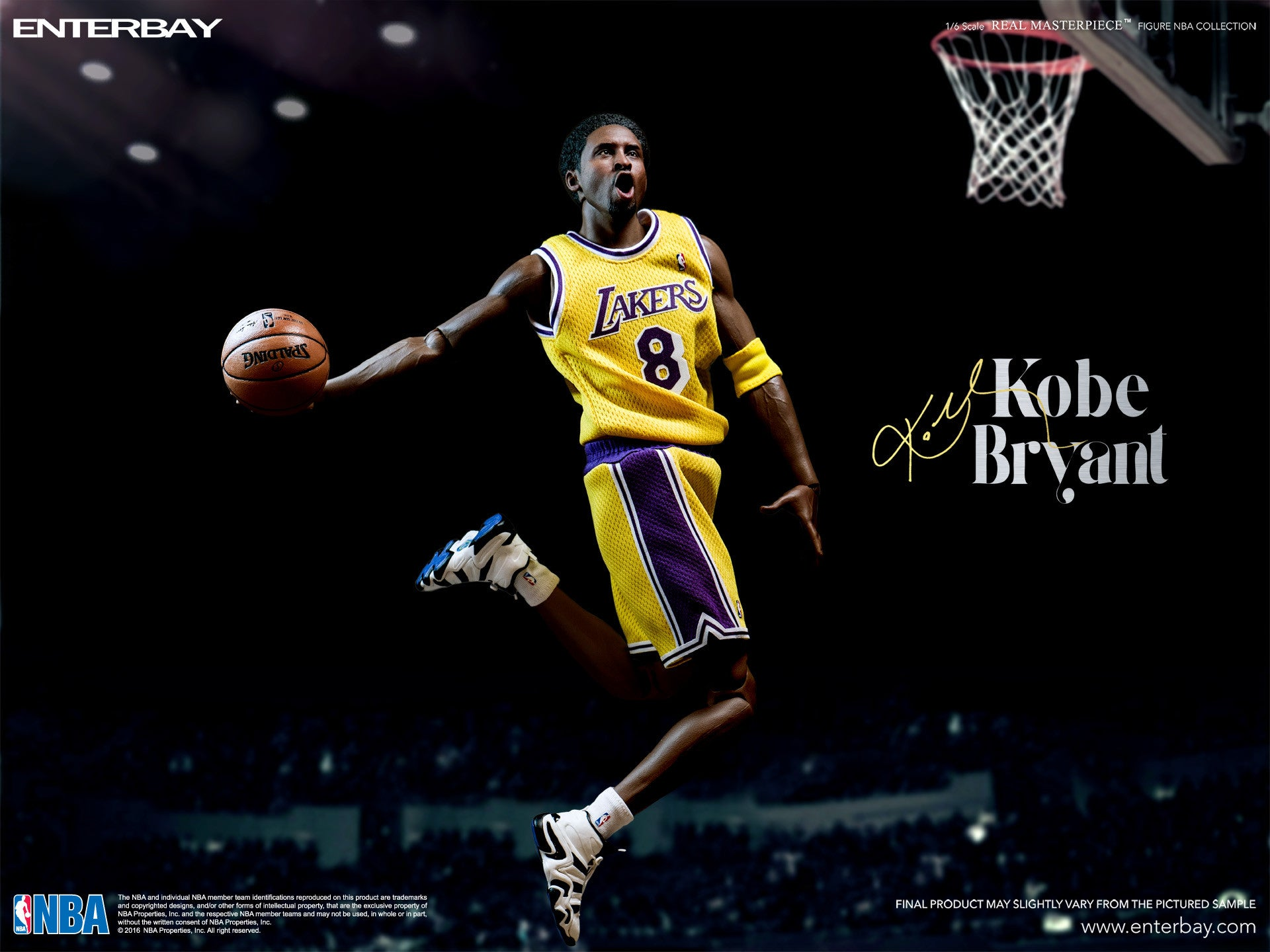 (IN STOCK) Enterbay - NBA Collection - Kobe Bryant - Marvelous Toys - 2