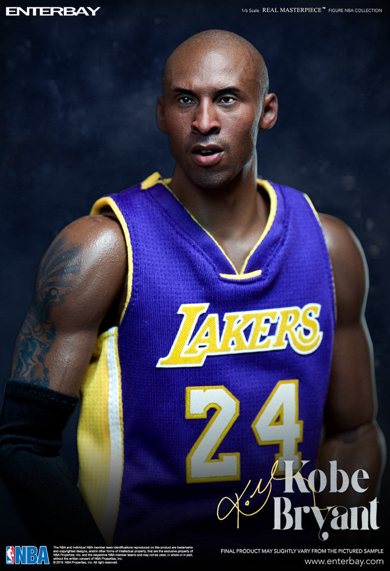 (IN STOCK) Enterbay - NBA Collection - Kobe Bryant - Marvelous Toys - 6