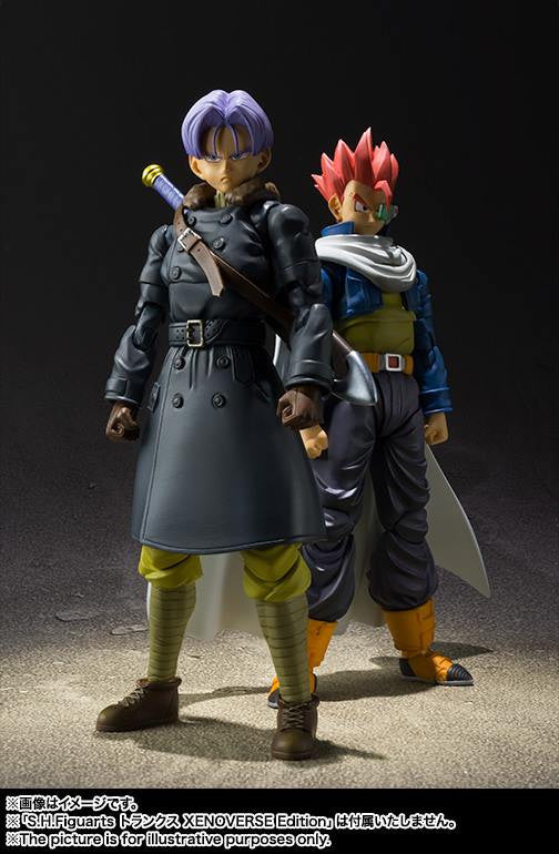 S.H.Figuarts - Dragon Ball Xenoverse 2 - Trunks XENOVERSE Edition - Marvelous Toys - 6