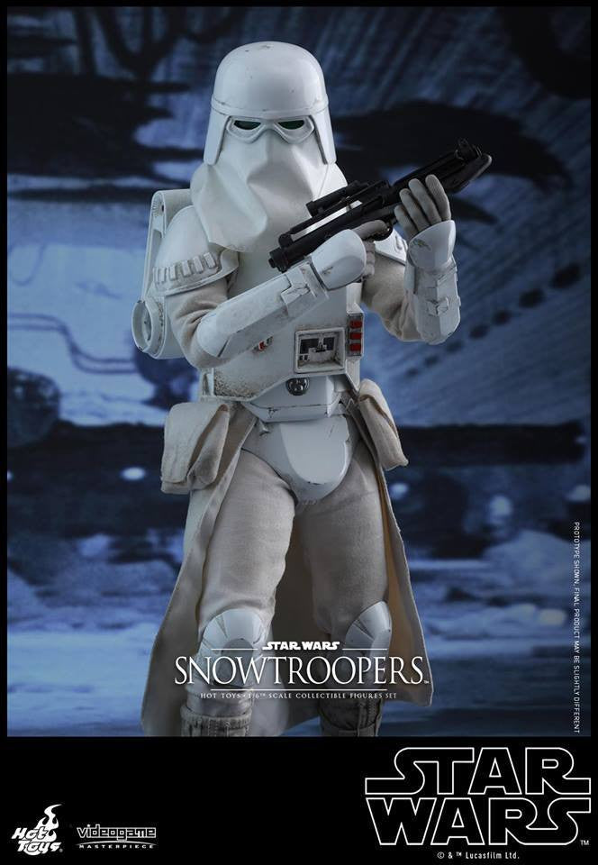 Hot Toys - VGM25 - Star Wars Battlefront - Snowtroopers Set - Marvelous Toys - 6