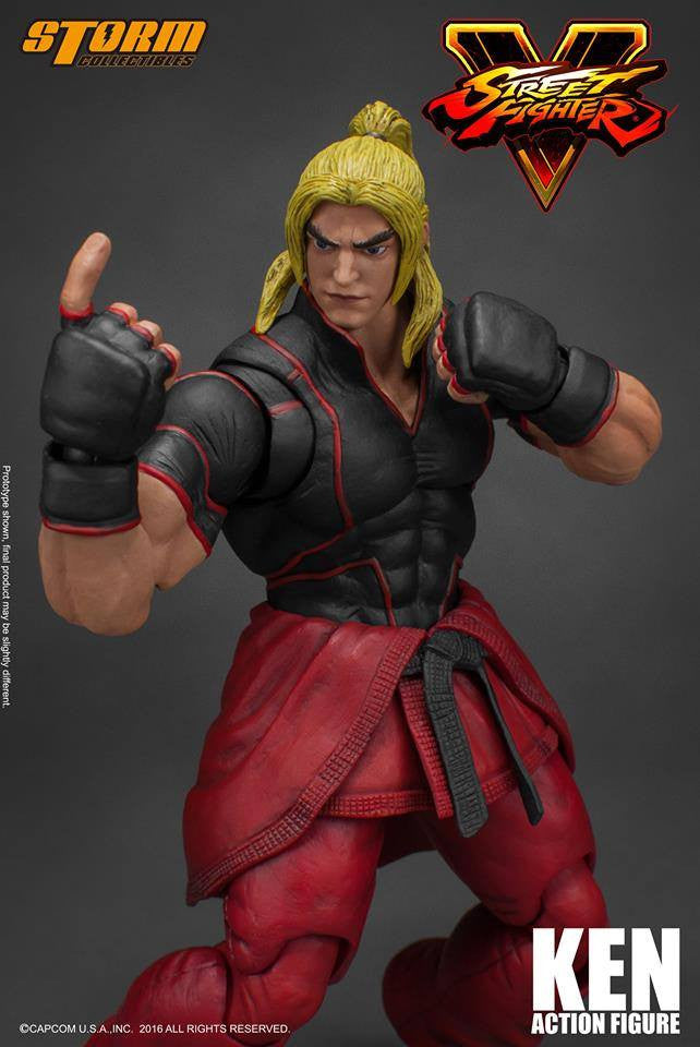 Storm Collectibles - 1:12 Scale Action Figure - Street Fighter V - Ken - Marvelous Toys - 5