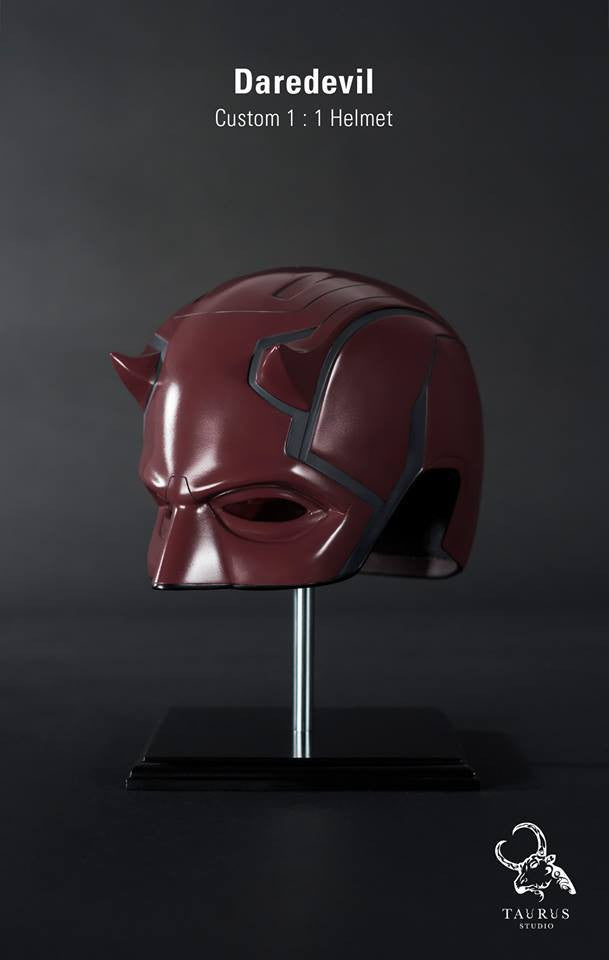 Custom Wearable 1:1 Daredevil Helmet - Marvelous Toys - 2