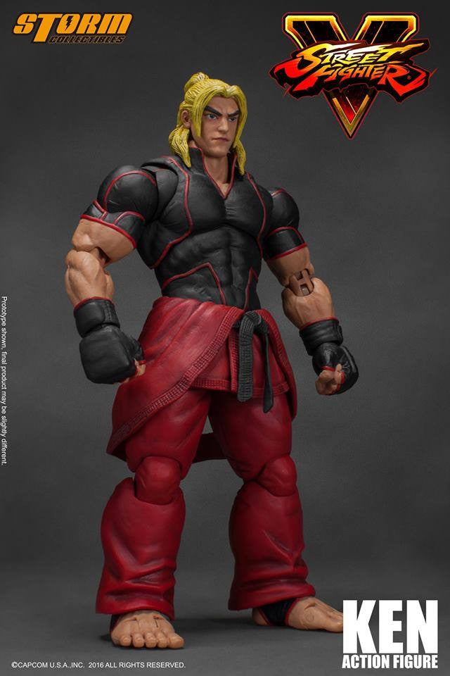 Storm Collectibles - 1:12 Scale Action Figure - Street Fighter V - Ken - Marvelous Toys - 7