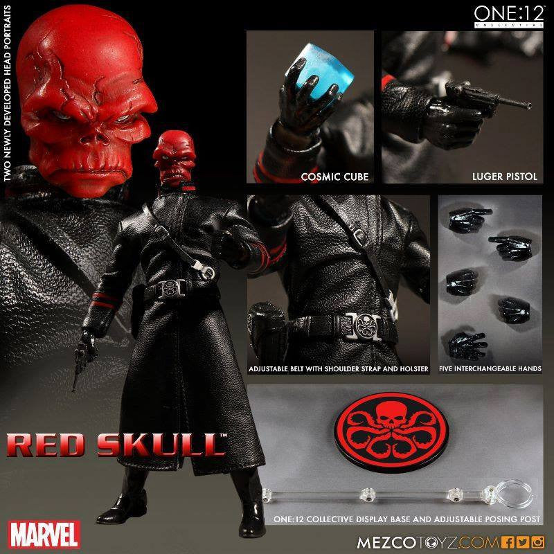 Mezco - One:12 Collective - Marvel - Red Skull - Marvelous Toys - 9