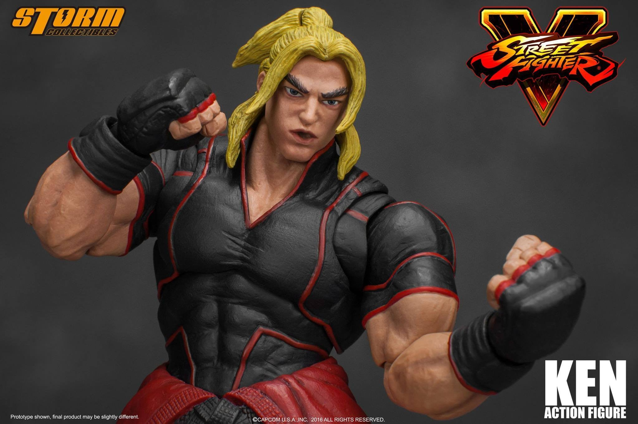 Storm Collectibles - 1:12 Scale Action Figure - Street Fighter V - Ken - Marvelous Toys - 11