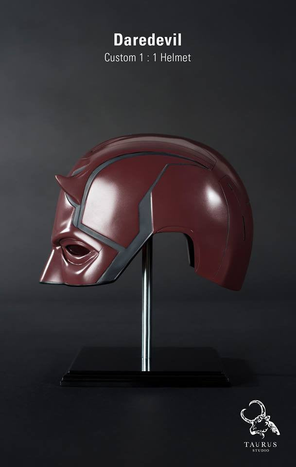 Custom Wearable 1:1 Daredevil Helmet - Marvelous Toys - 3