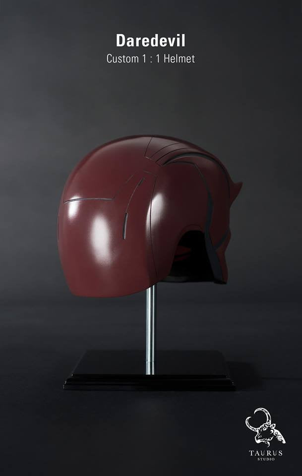 Custom Wearable 1:1 Daredevil Helmet - Marvelous Toys - 4