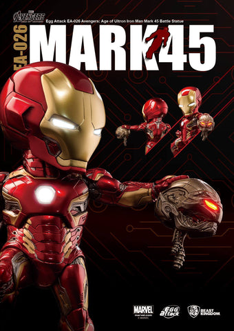 Egg Attack - EA-026 - Avengers: Age of Ultron - Mark 45 (XLV) Battle Statue - Marvelous Toys - 2