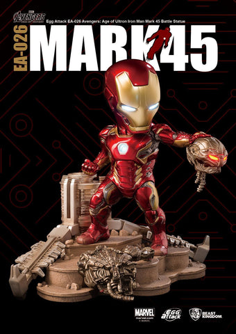 Egg Attack - EA-026 - Avengers: Age of Ultron - Mark 45 (XLV) Battle Statue - Marvelous Toys - 1