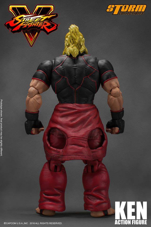Storm Collectibles - 1:12 Scale Action Figure - Street Fighter V - Ken - Marvelous Toys - 15