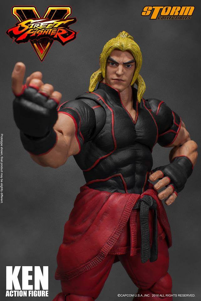 Storm Collectibles - 1:12 Scale Action Figure - Street Fighter V - Ken - Marvelous Toys - 17