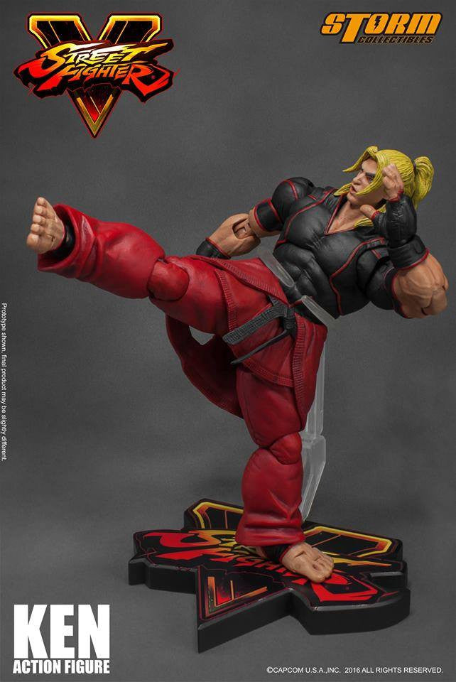 Storm Collectibles - 1:12 Scale Action Figure - Street Fighter V - Ken - Marvelous Toys - 6