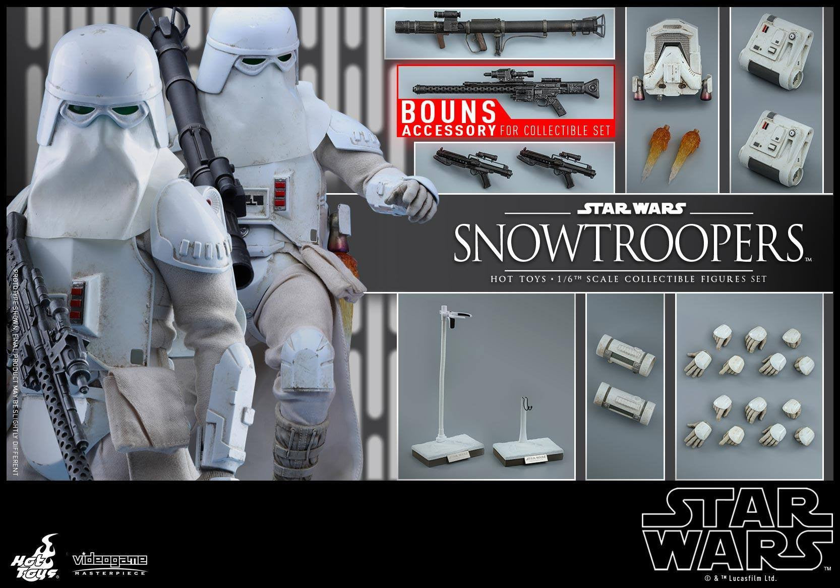 Hot Toys - VGM25 - Star Wars Battlefront - Snowtroopers Set - Marvelous Toys - 16