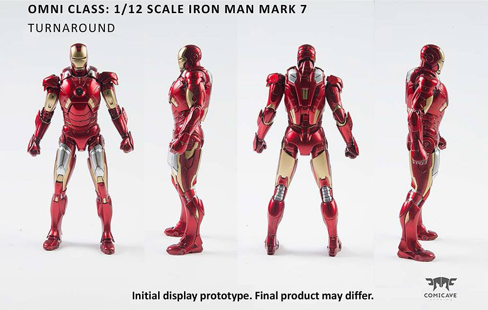 Comicave Studios - Omni Class: 1/12 Scale Iron Man Mark 7 (VII) - Marvelous Toys - 3