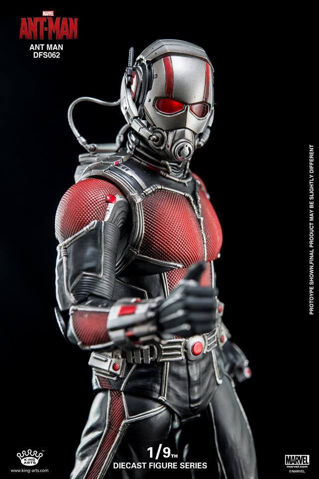 King Arts - DFS062 - Ant-Man - Ant-Man - Marvelous Toys - 2