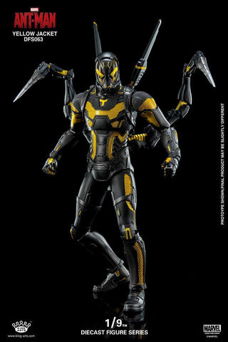 King Arts - DFS063 - Ant-Man - Yellow Jacket - Marvelous Toys - 1
