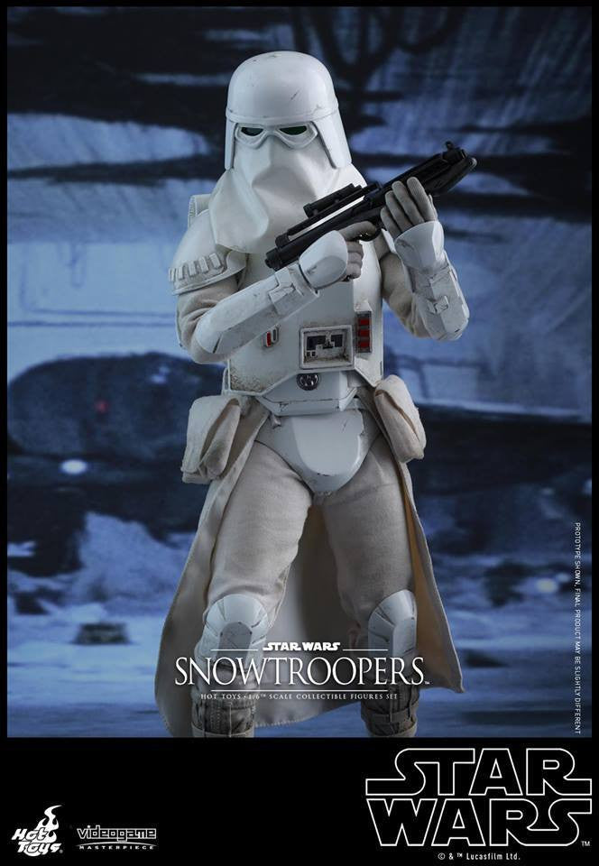 Hot Toys - VGM25 - Star Wars Battlefront - Snowtroopers Set - Marvelous Toys - 7