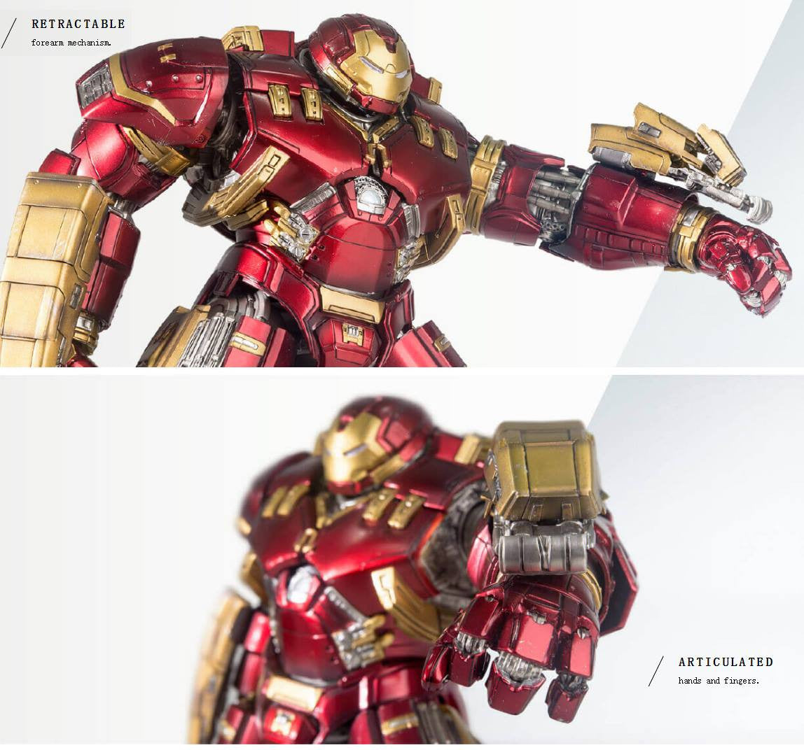 Comicave Studios - Omni Class: 1/12 Scale Iron Man Mark 44 (XLIV) (Hulkbuster) - Marvelous Toys - 3