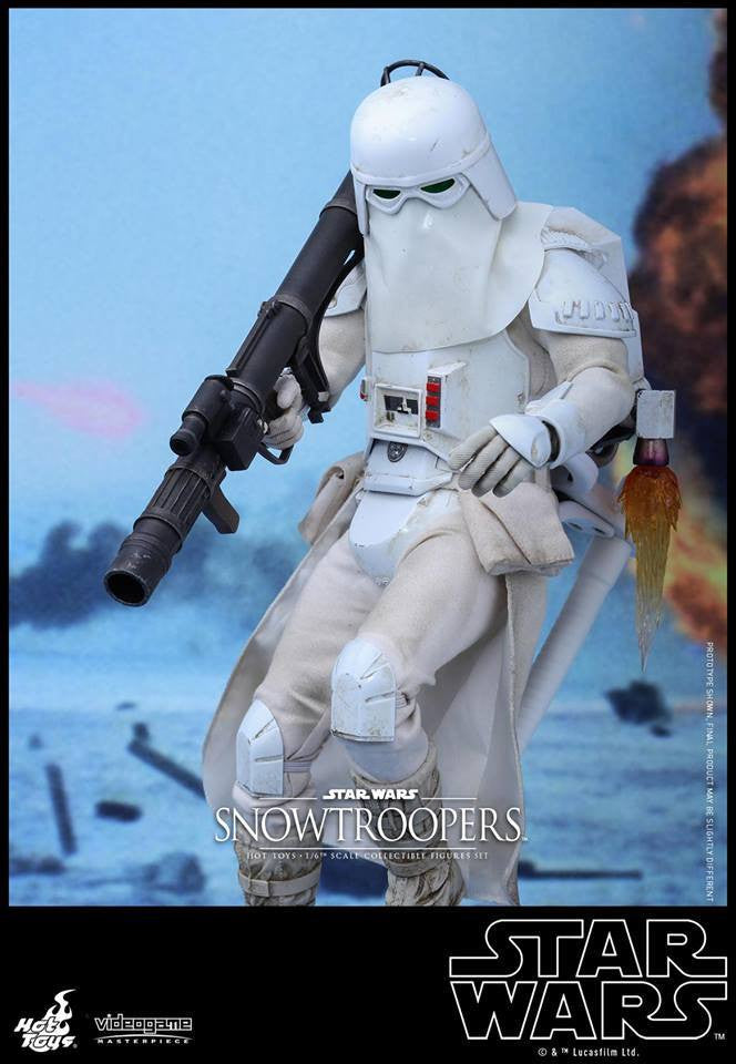 Hot Toys - VGM25 - Star Wars Battlefront - Snowtroopers Set - Marvelous Toys - 8