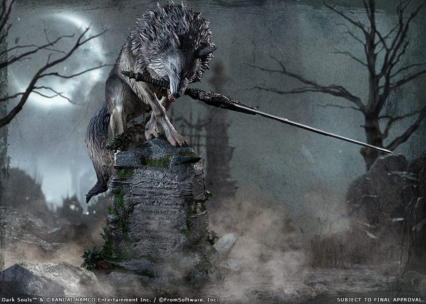 First 4 Figures Dark Souls Sif The Great Grey Wolf